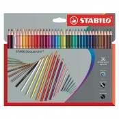 Scatola in cartone con 36 matite colorate Aquacolor