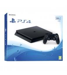 PS4 CONS. 500GB NEW SLIM BLACK immagine thumbnail