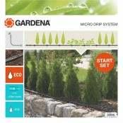 Start Set di irrigazione a goccia per filari di piante S...