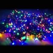 Catena Luminosa 300 LED con luce multicolor e giochi luce