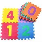 Tappeto puzzle Numeri in EVA foam 9 pz.