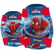 Kit gomitiere/ginocchiere Spiderman