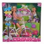 Steffi Love ed Evi in bici