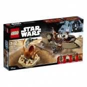 Star Wars Fuga dal deserto sullo skiff 75174