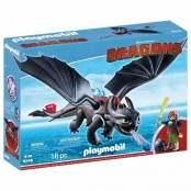 Dragons Hiccup e Sdentato 9246