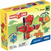 Magicube Dinosaurs 7 cubi e 17 clips magnetiche
