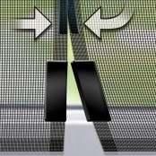 Tenda zanzariera magnetica per porte, 120 x 240 cm