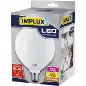 Lampadina LED Globo G120 15W E27 3000K LCGG780
