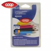 4 cartucce per stampanti multicolor E29XL KIT compatibile...