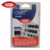 Cartuccia per stampanti nero C512XL compatibile Canon PGI...
