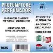 Confezione da 5 profumatori d'ambiente per aspirapolvere PF 1
