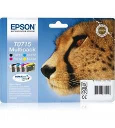 MULTIPACK EPSON 4 CART T071 immagine thumbnail
