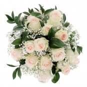 Bouquet 12 rose rosa