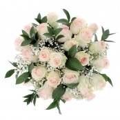 Bouquet 24 rose rosa