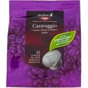 Caravaggio India 15 Capsule di Caffè Tostato e Macinato 95 g