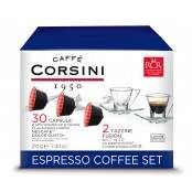 ESPRESSO COFFEE SET BLU