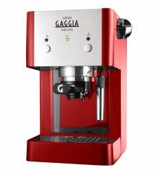 MACCHINA CAFFE DELUXE ROSSO immagine thumbnail