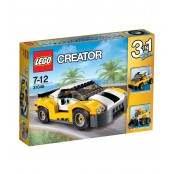 LEGO AUTO SPORTIVA GIALLA