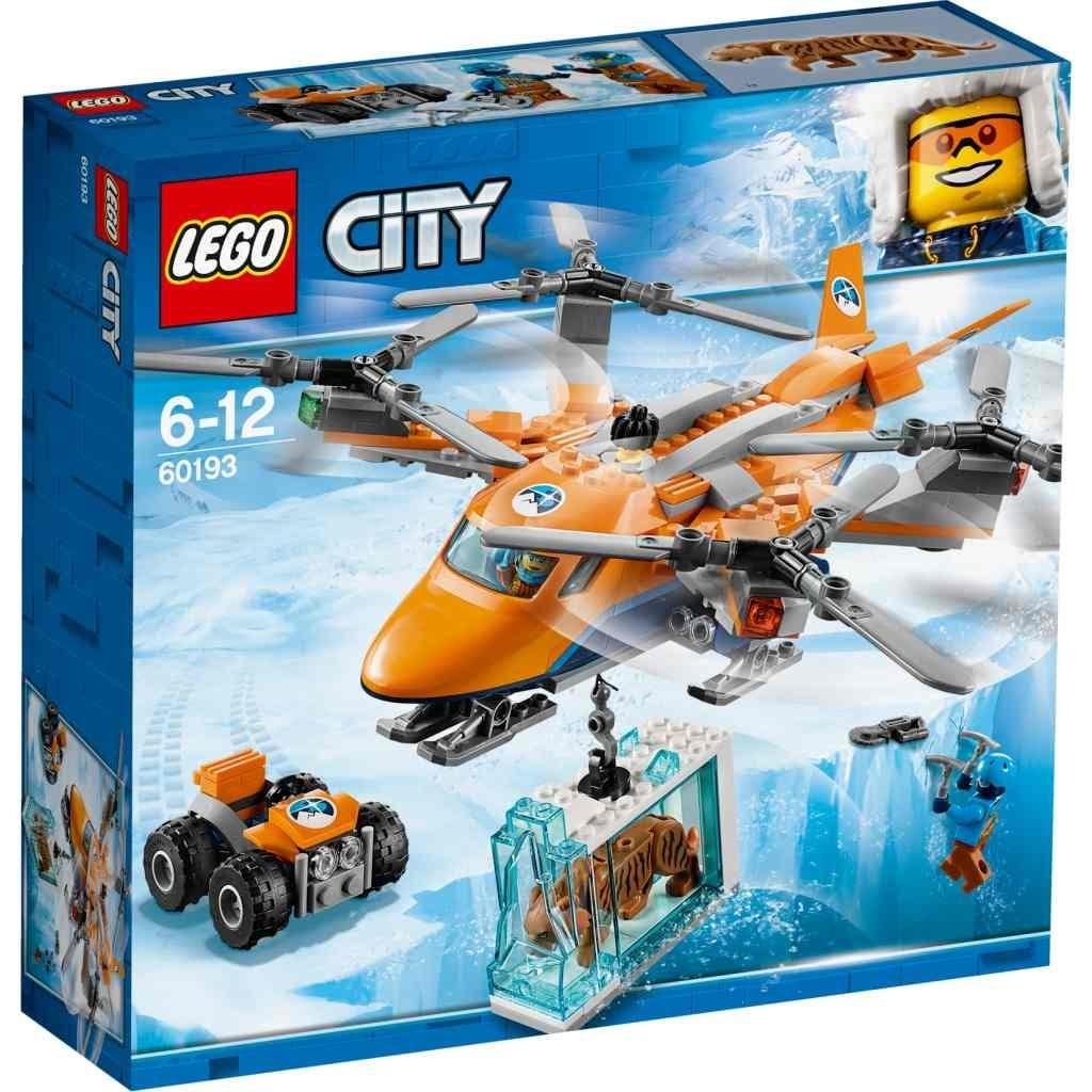 3383a3d6bbbe LEGO CITY ARCTIC AEREO DA TRAS - City - MondoLego - Speciali