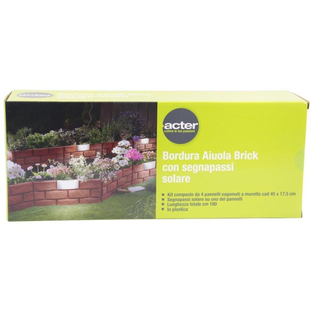 Bordure Per Aiuole In Plastica Prezzi.Bordura Aiuola Brick