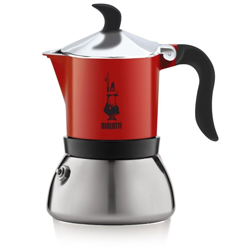 Caffettiera Fiammetta 3Tz Rossa
