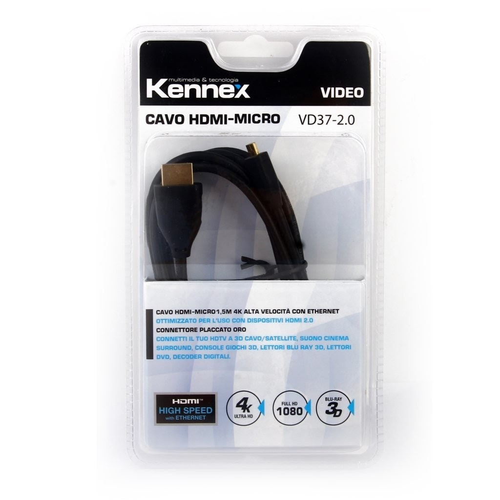 Schema Collegamento Hdmi : Cavo hdmi micro kennex vd accessori tv video tv dvd home