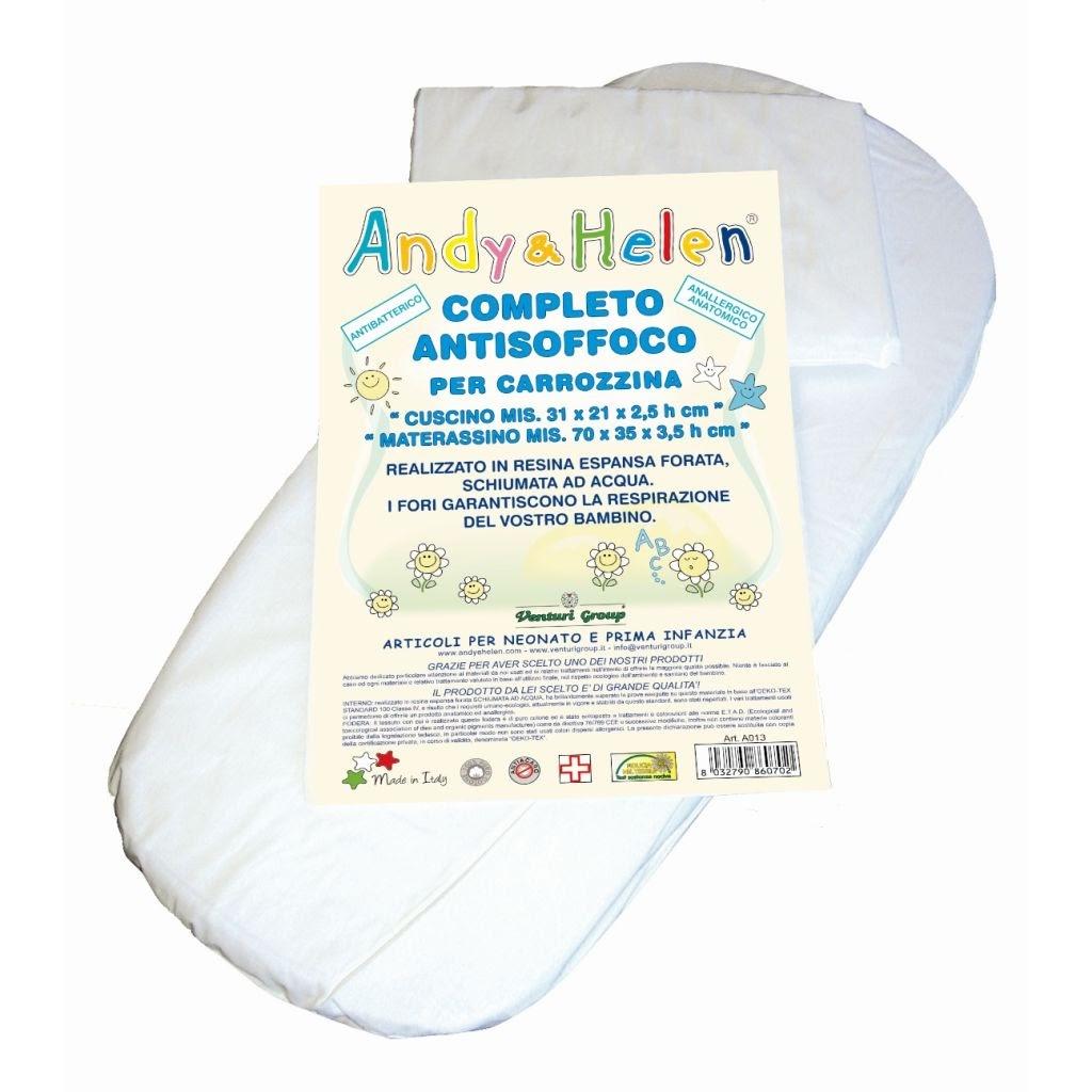 Mater cuscino culla antisof for Misure cuscino carrozzina