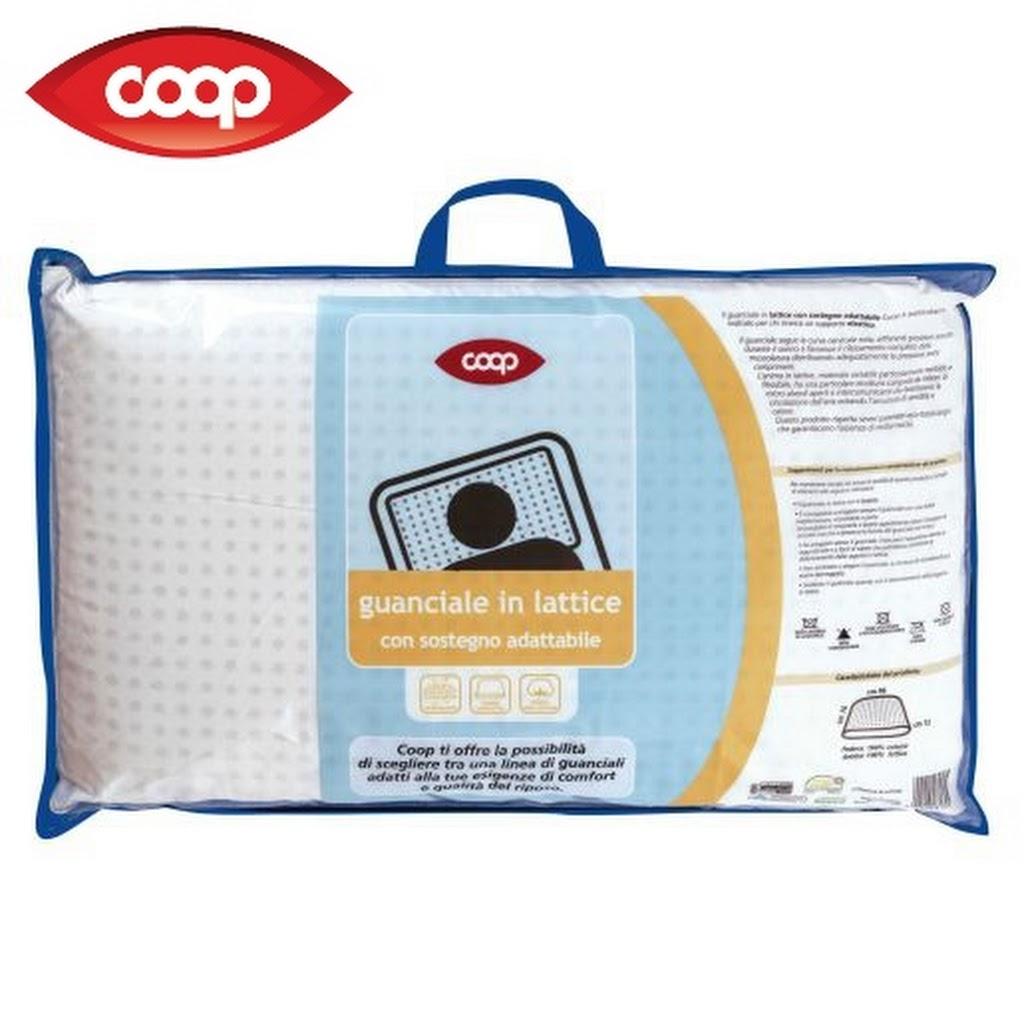 guanciale lattice coop 76x46 - cuscini - camera da letto - casa ed