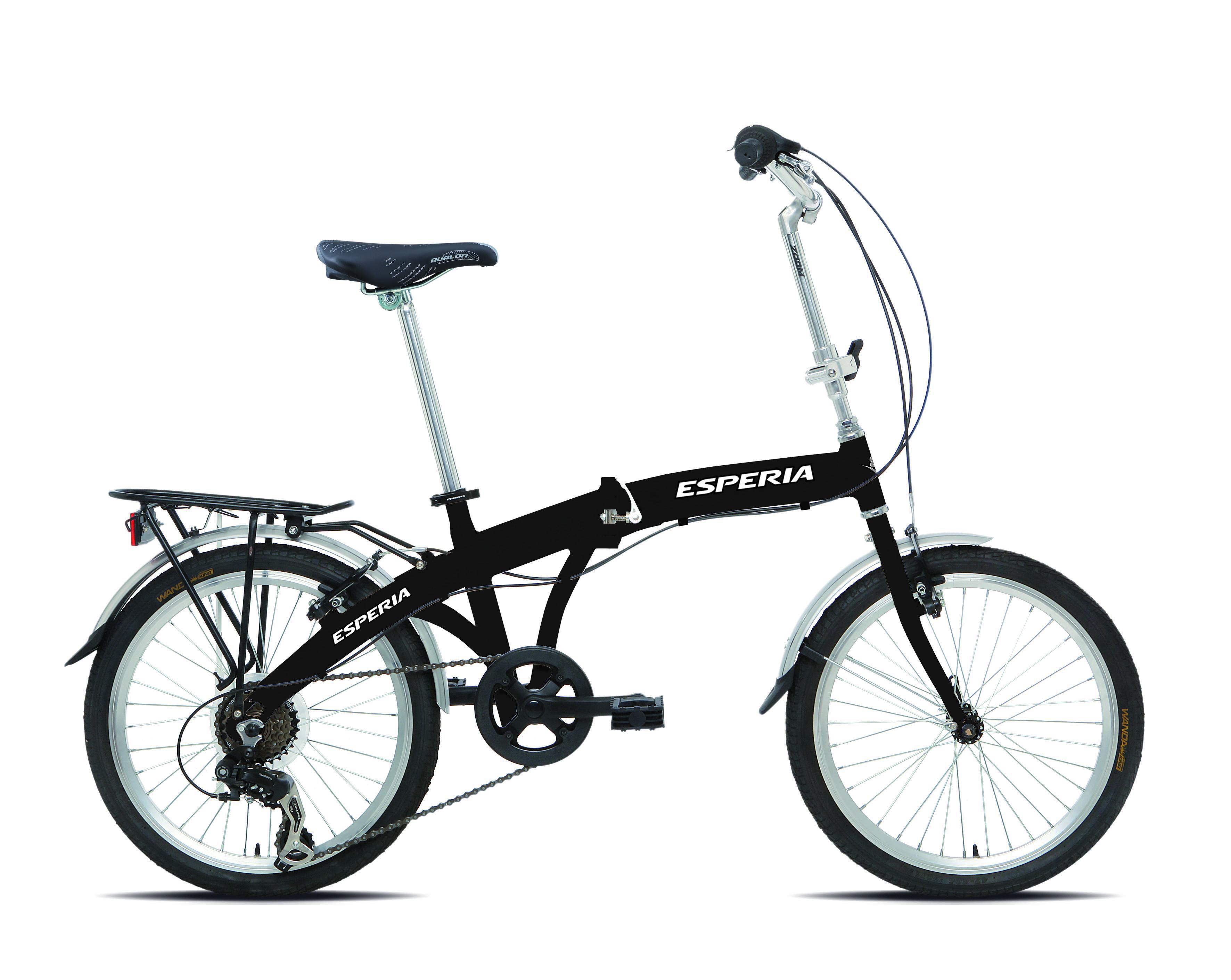 Bici Pieghevole 20 10246d Nero